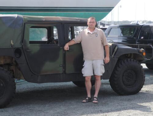 Deputy Harbormaster Rob Miller