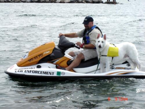 Harbormaster Steve Melo