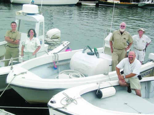Harbormaster Staff circa 2004